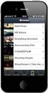 Vimeo-categorie