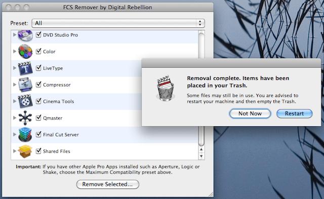 fcs remover