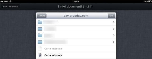 accesso-webdav