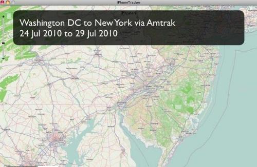 L'iPhone traccia i nostri spostamenti