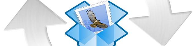 sincronizzre mail su dropbox