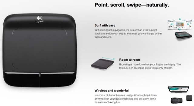 WirelessTouchpad