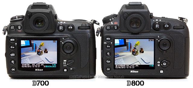Nikon-D800-vs-D700-display