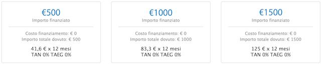 finanziamento-apple-tasso-zero