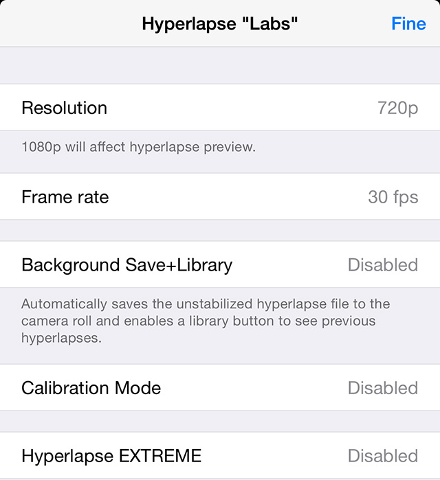 Hyperlapse-labs