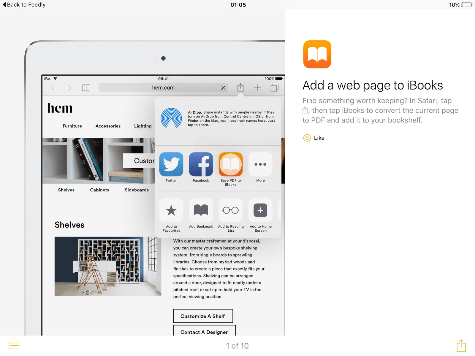 how to attach pdf from ibooks