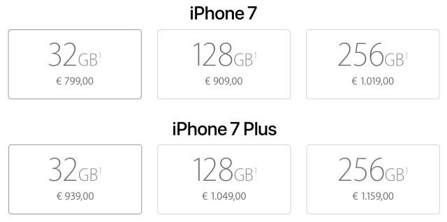 prezzi-iphone7