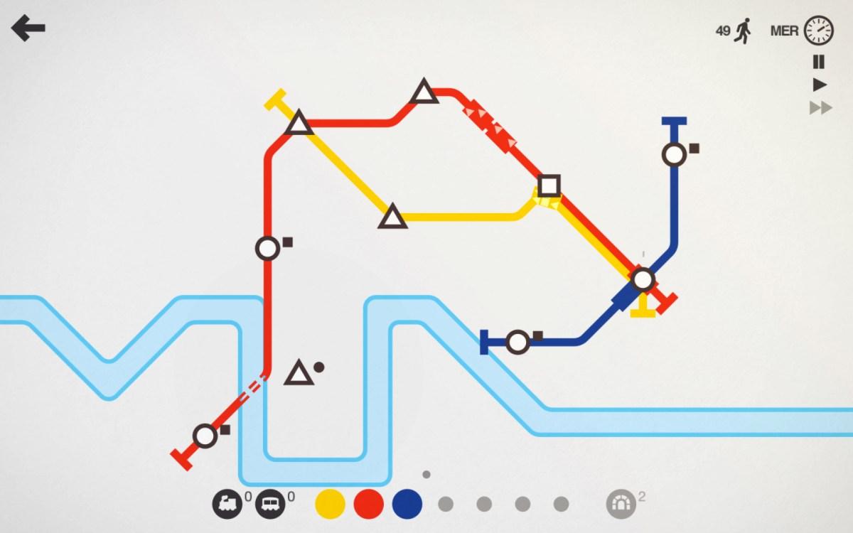 Mini Metro, un bel gioco di strategia per gli amanti dei trasporti urbani