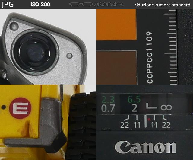 Lumix G80 - Test ISO