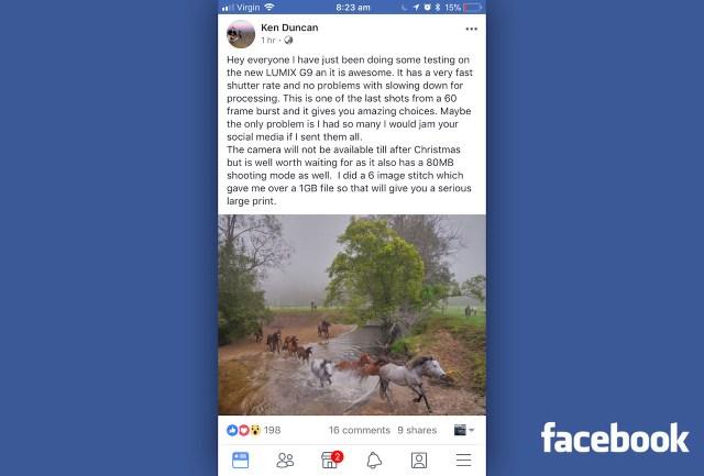 lumix-g9-facebook-rumor
