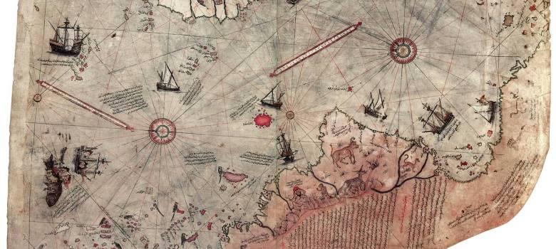 mappa Piri Reis