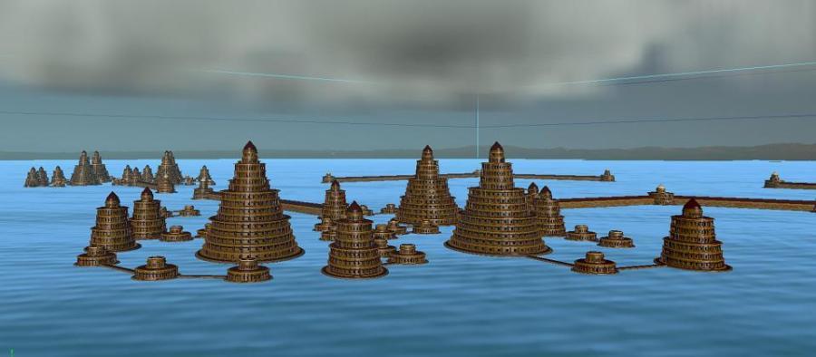 Atlantide ricostruzione