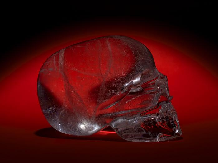 teschi di cristallo