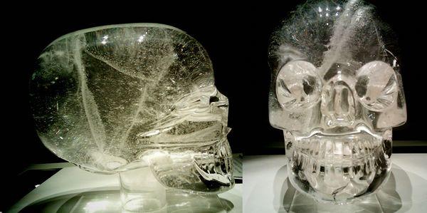 teschi di cristallo maya
