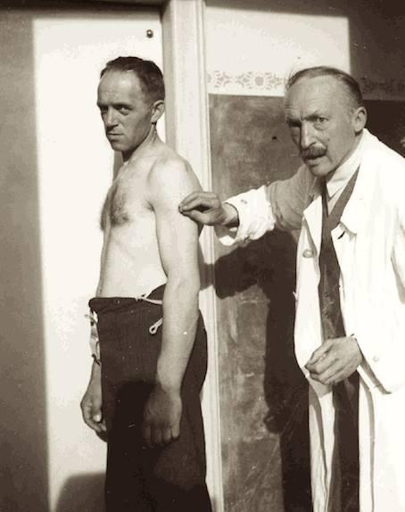 gli esperimenti del dottor Calligaris