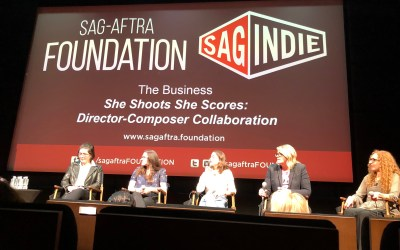 Panel (Full Video): SHE SHOOTS, SHE SCORES – DIRECTOR-COMPOSER COLLABORATION