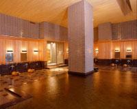 Men's large hot springs