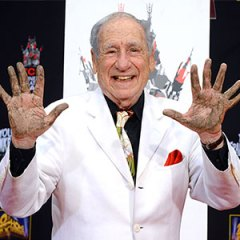 MEL BROOKS ENTRA NELLA WALK OF FAME