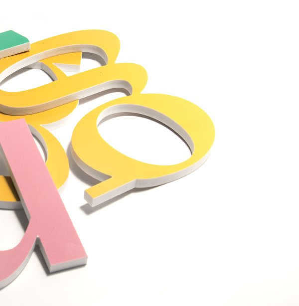 LETTERE IN 3D