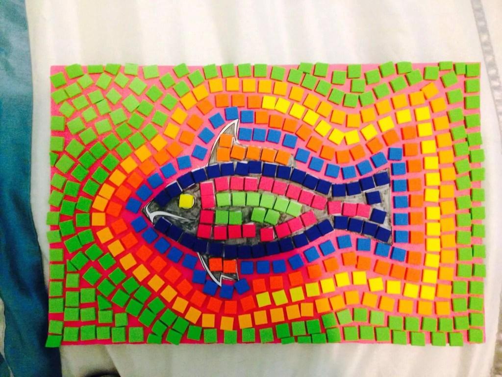 mozaik adalah