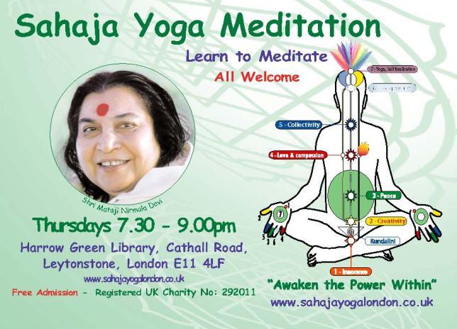 Free Yoga Meditation Leytonstone