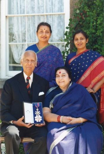 Shri Mataji & family
