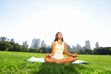 Meditation in the Park - Free Sahaja Yoga Meditation Classes