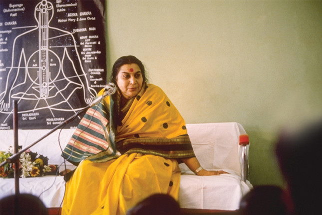 Shri Mataji - Free Sahaja Yoga Meditation