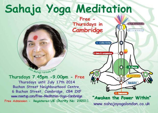 Free Meditation Cambridge