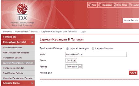 Cara Download Laporan Keuangan Di Idx Gratis Seputar Laporan