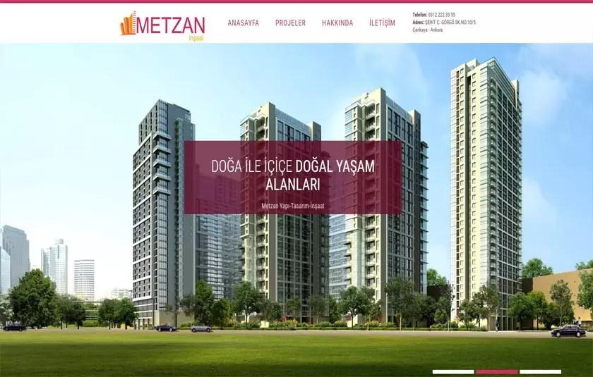 Metzan İnşaat – metzan.com