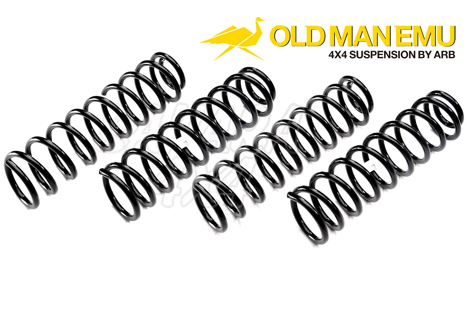 Kit Muelles Ome 4cm Para Land Rover Discovery 1