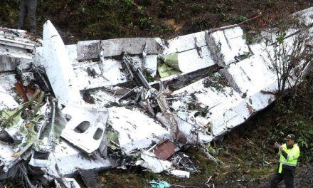 Pilot of Chapecoense flight said plane ran out of fuel before crash – recording