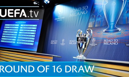 Champions league 2016/17 Round of 16 Draw