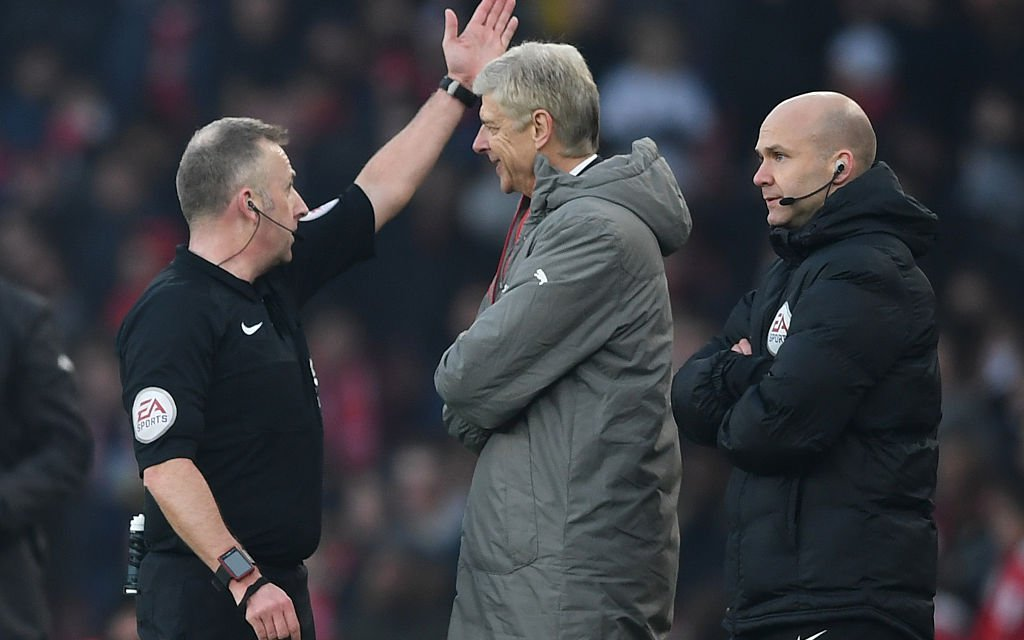 Arsenal boss Arsene Wenger accepts FA charge for pushing fourth official