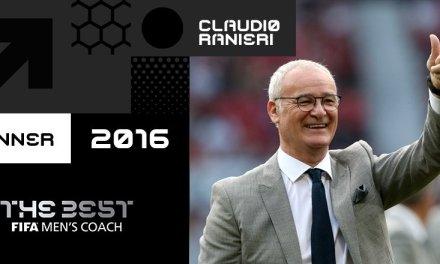 Claudio Ranieri wins Best FIFA Men's Coach of the Year over Santos, Zidane