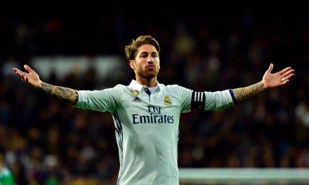 Ramos winner puts Real Madrid atop La Liga; Barcelona slip up vs. Deportivo