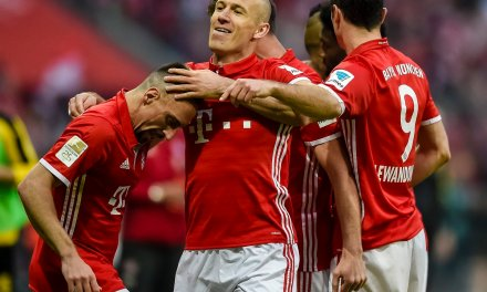 Ribery, Robben, Lewandowski all score as Bayern Munich beat Dortmund