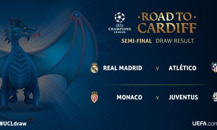 Real Madrid vs. Atletico and Juventus face Monaco in UCL semifinals