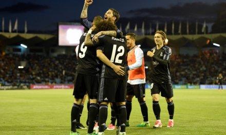 Celta Vigo 1-4 Real Madrid: Real circling title