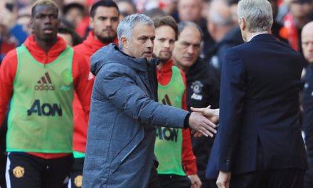 Wenger Finally Gets One Over Mourinho