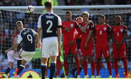 England Salvage Late Draw In World Cup Qualifier Against Scotland