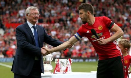 Stars Turn Up As Michael Carrick Gets The Attention At His Testimonial