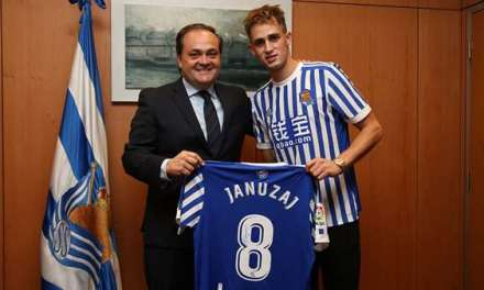 Real Sociedad complete signing of Adnan Januzaj from Manchester United on a five-year deal