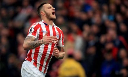 Stoke City reject £20m bid from West Ham for Marko Arnautovic