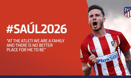 Saul Niguez Signs Nine Year Contract Extension With Atletico