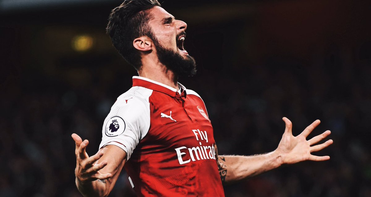 Giroud seals dramatic opening win for Arsenal