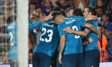 10 Man Real Madrid Coast Past Barca In SuperCopa Clash
