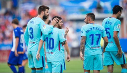 Lionel Messi out of Barcelona squad to face Malaga due to birth of third child