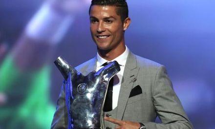 Cristiano Ronaldo Wins UEFA Men's Player Of The Year